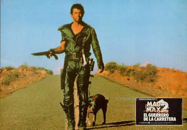 1981年 『マッドマックス2』メル・ギブソン ロビーカード 3枚組