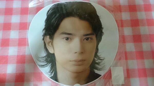 新品 嵐 カウコン 2008-2009 グッズ うちわ 松本 松本潤