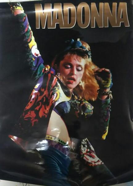 マドンナ 1986年頃 ポスター貴重な1枚 綺麗なポスターです!