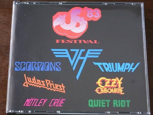 ★3CD!VAN HALEN/ヴァン・ヘイレン参加!THE US FESTIVAL '83_画像1