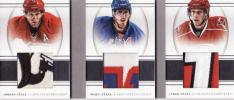 National Treasures[Jordan/MARC/JARED STAAL]Triple Patch Card