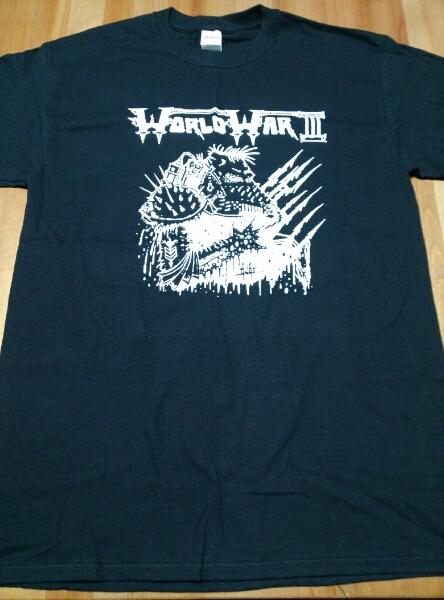 WORLD WAR III Fest Tシャツ 黒M /voivod celtic frost possesed