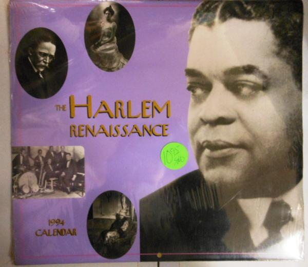 Harlem Renaissance 1994カレンダー 新品 alberta hunter/handy