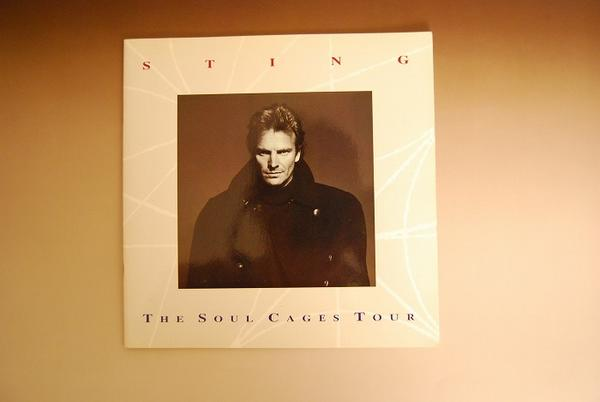 【e17】STING/THE SOOL CAGES TOUR/ツアーパンフレット/91年/