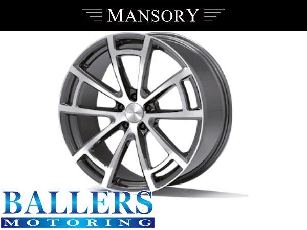MANSORY BENZ W217 Sクーペ 22インチ 9.5j スパイダー ホイール シルバー&ブラック(1本)S400 S550 S63 S65_画像1