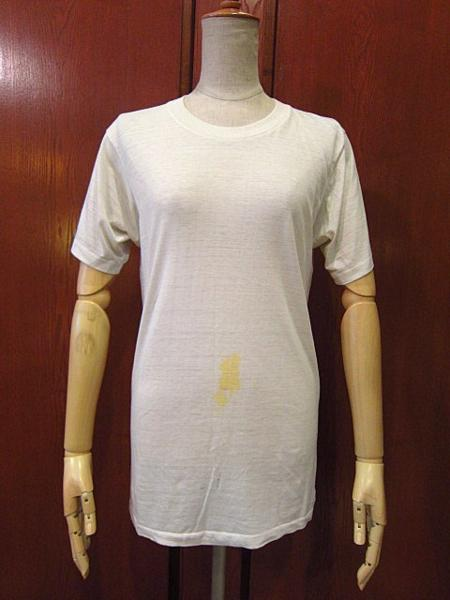 ビンテージ70's★U.S.ARMYバックプリントTシャツ★60's80's古着ミリタリーコットン_画像2