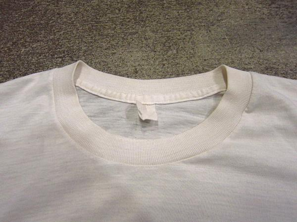 ビンテージ70's★U.S.ARMYバックプリントTシャツ★60's80's古着ミリタリーコットン_画像6