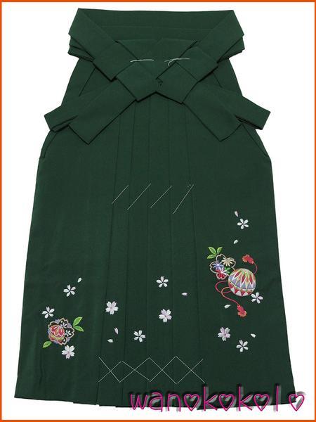 【和のこころキッズ】七五三・卒園式に◇七歳用刺繍袴・古典柄G_画像1