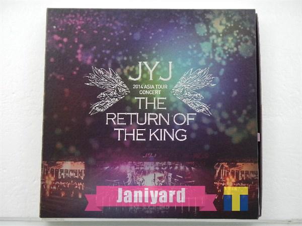 JYJ DVD 2014 ASIA TOUR CONCERT THE RETURN OF THE KING 1円