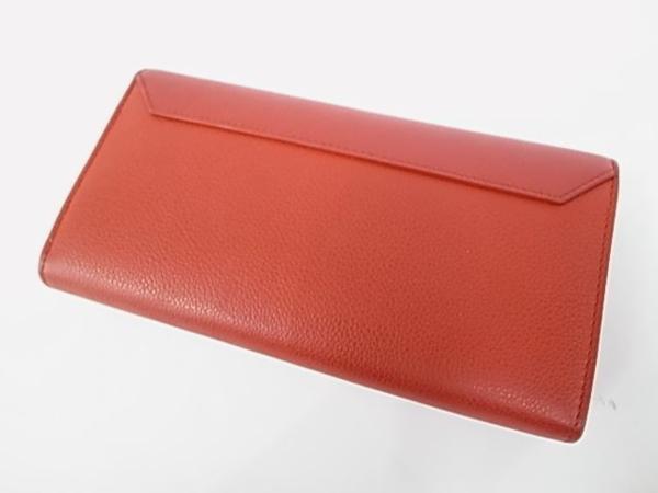 7253T【本物保証】 ルイ・ヴィトン ポルトフォイユロックミー2 M62326 二つ折り長財布 レザー 赤 美品_画像4