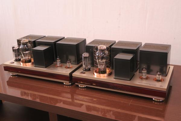 【ワンオーナー品】LUXMAN MB-300 WE-300B Western Electric 300B LUXMAN選別球 ラックスマン モノラルパワーアンプ REWIRE INC#R01588