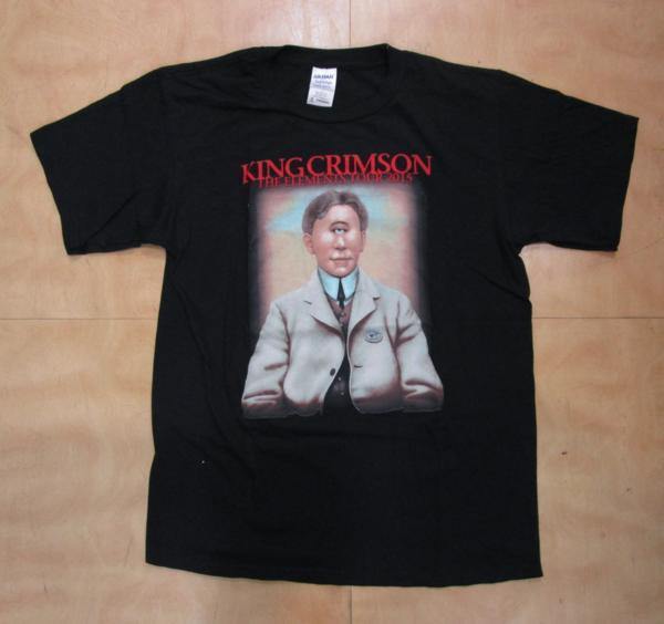 ☆中古オフィシャルTシャツ(S) KING CRIMSON キングクリムゾン THE ELEMENTS TOUR 2015 プログレ PROGRESSIVE ROCK