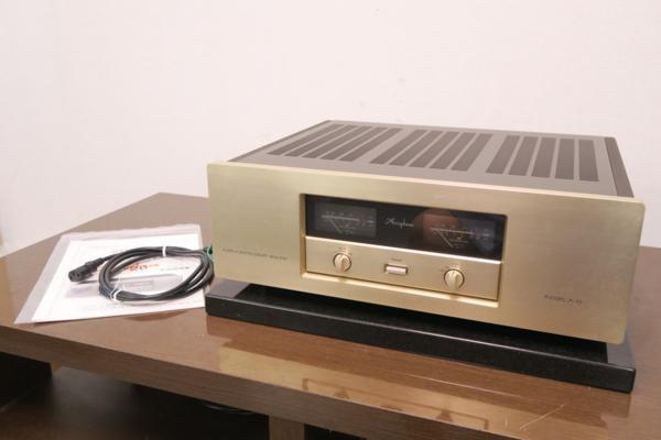 Accuphase A-20 アキュフェーズ 純A級ステレオパワーアンプ 20W+20W (8Ω) REWIRE INC#R0