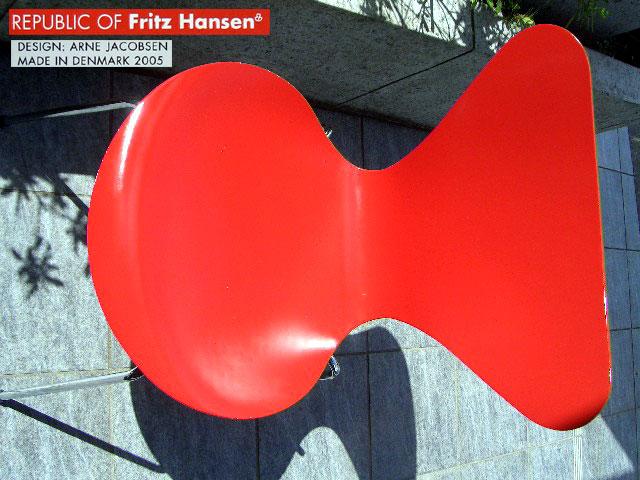 ●Arne Jacobsen アルネ ヤコブセン Seven セブンチェア 北欧●デンマーク フリッツ ハンセン モダンリビング デザイナーズ 定価\79920♂_画像1