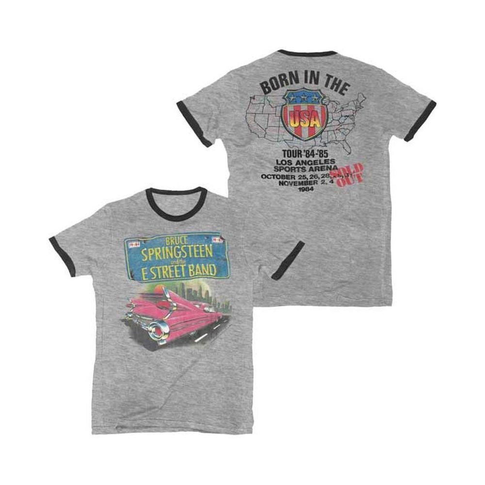 Bruce Springsteen Tシャツ ブルース・スプリングスティーン Pink Car Ringer S ライブグッズの画像