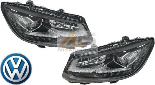 【M's】VW ゴルフ トゥーラン 1T(11y-15y)純正 バイキセノン ライト 左右セット/正規品 日本仕様 左側通行用 1T2-941-753H 1T2-941-754H_画像1