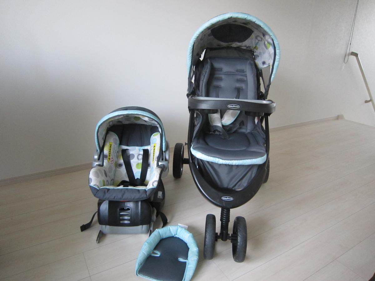 Baby Trend ベビートレンド TS41961 トラベル システム 3輪 バギー ベビーカー チャイルドシート Nexton Travel System- Mod Dot_画像1