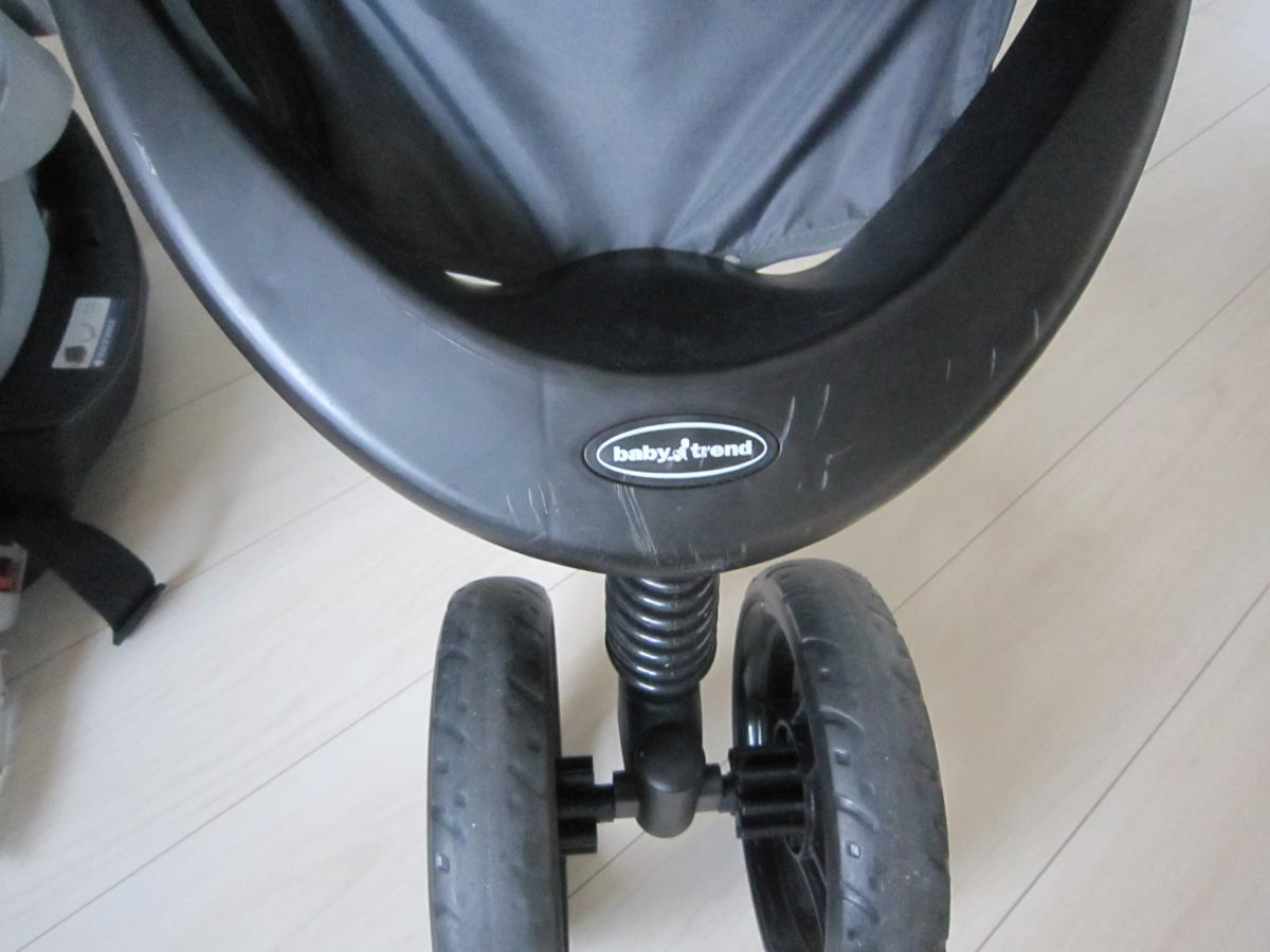 Baby Trend ベビートレンド TS41961 トラベル システム 3輪 バギー ベビーカー チャイルドシート Nexton Travel System- Mod Dot_画像2
