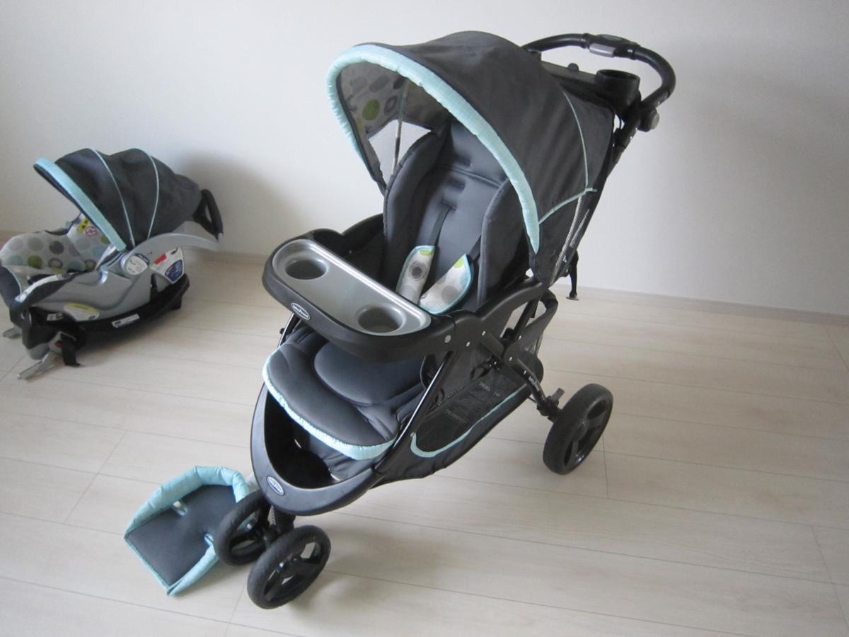 Baby Trend ベビートレンド TS41961 トラベル システム 3輪 バギー ベビーカー チャイルドシート Nexton Travel System- Mod Dot_画像5
