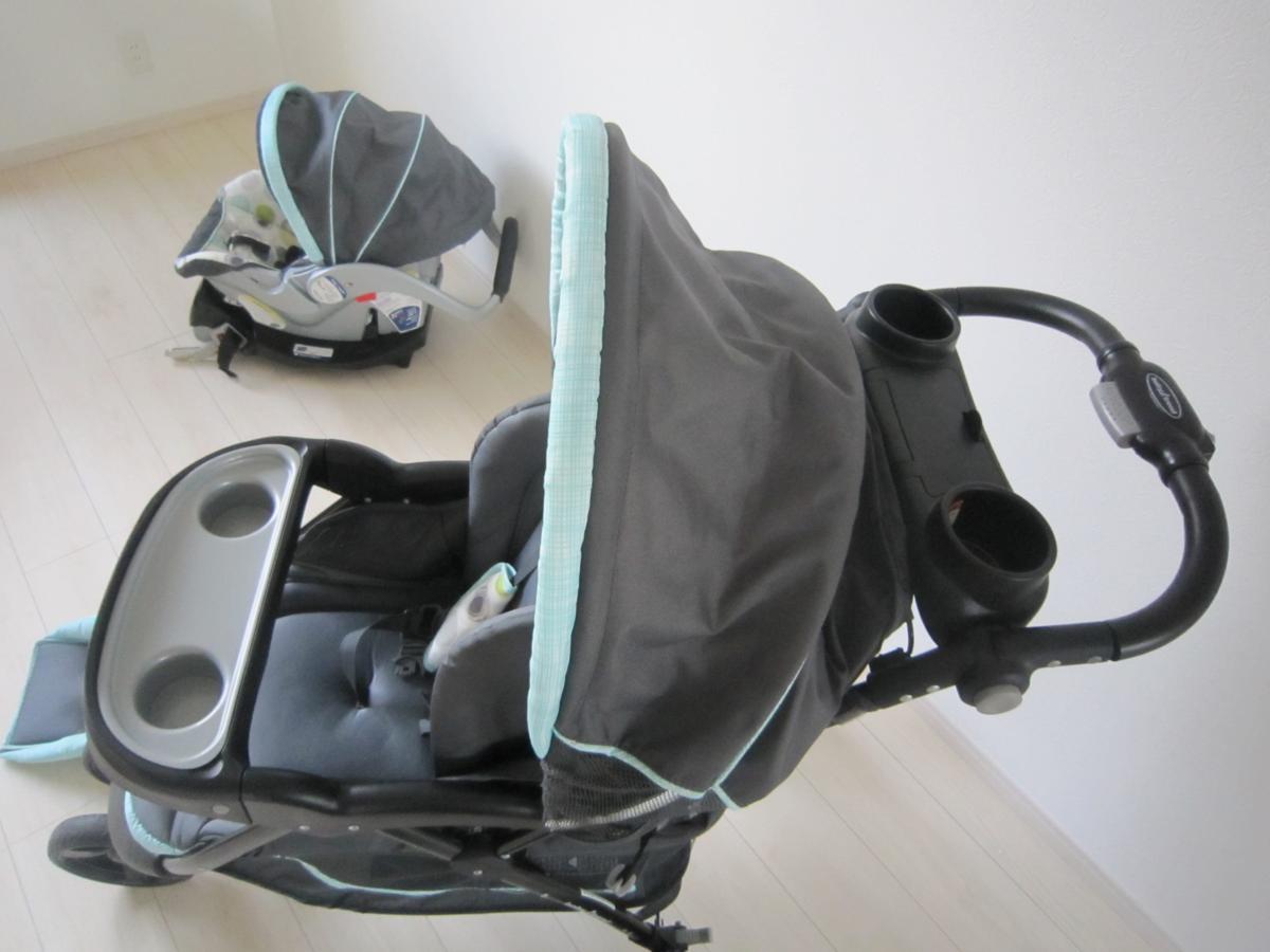 Baby Trend ベビートレンド TS41961 トラベル システム 3輪 バギー ベビーカー チャイルドシート Nexton Travel System- Mod Dot_画像6
