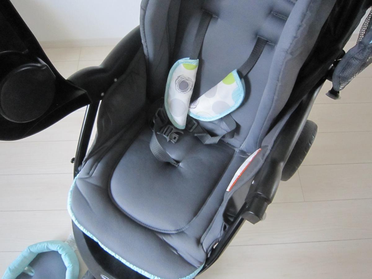 Baby Trend ベビートレンド TS41961 トラベル システム 3輪 バギー ベビーカー チャイルドシート Nexton Travel System- Mod Dot_画像8