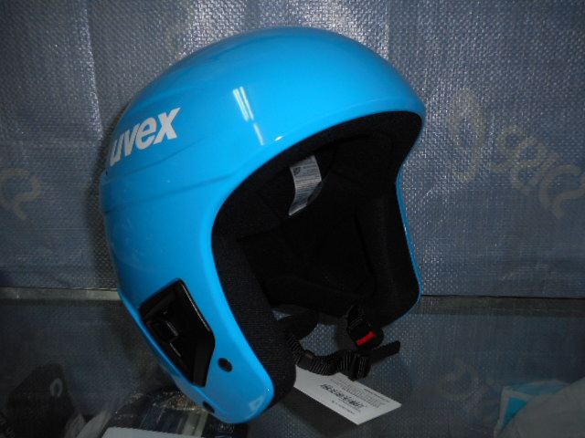 UVEX ヘルメット race + fly all cyan 55-56㎝_画像1