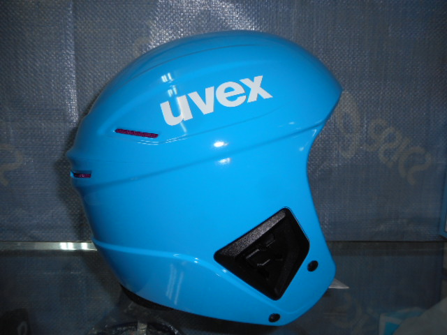 UVEX ヘルメット race + fly all cyan 55-56㎝_画像2