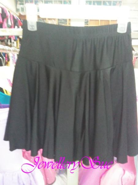 【TING】L001ウェストゴム付き/スパッツ付きスカート♪ バレエ・ダンス用♪サイズ:L♪送料無料♪_画像1