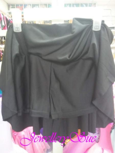 【TING】L001ウェストゴム付き/スパッツ付きスカート♪ バレエ・ダンス用♪サイズ:L♪送料無料♪_画像2