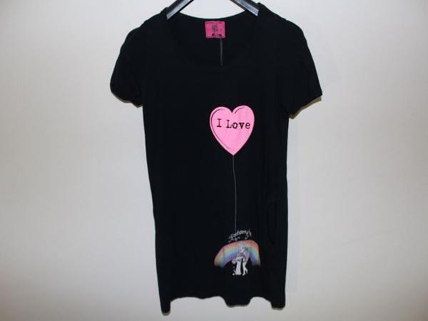 ロックスターズエンジェルス ROCKSTARS&ANGELS レディース半袖Tシャツ ブラック XSサイズ 新品 黒_画像1