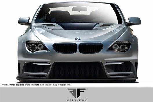 BMW 6シリーズ E63 E64 コンバーチブル AF-2 ワイドボディキット エアロ11点セット【送料無料】 カブリオレオーバーフェンダー_画像9