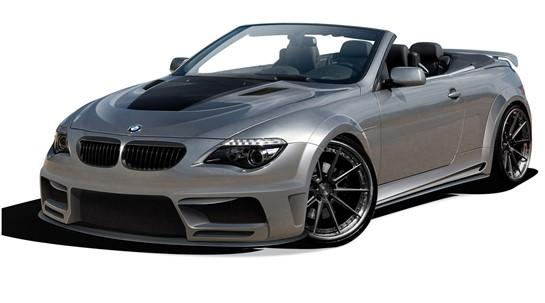 BMW 6シリーズ E63 E64 コンバーチブル AF-2 ワイドボディキット エアロ11点セット【送料無料】 カブリオレオーバーフェンダー_画像1