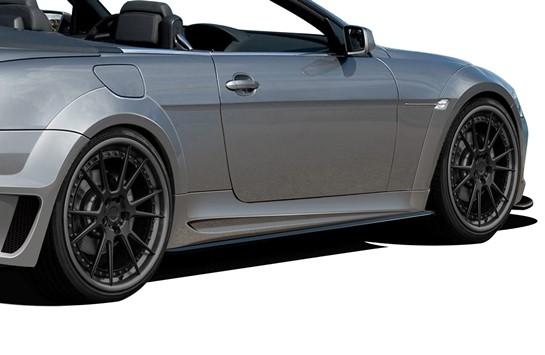 BMW 6シリーズ E63 E64 コンバーチブル AF-2 ワイドボディキット エアロ11点セット【送料無料】 カブリオレオーバーフェンダー_画像4