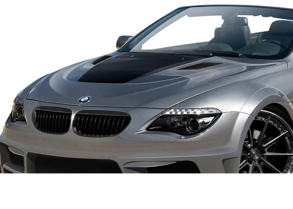 BMW 6シリーズ E63 E64 コンバーチブル AF-2 ワイドボディキット エアロ11点セット【送料無料】 カブリオレオーバーフェンダー_画像7