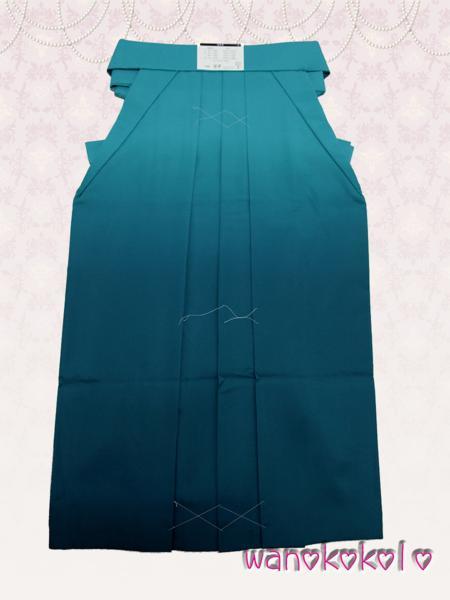 【和のこころキッズ】卒業式に◇ぼかし刺繍袴◇F浅葱系◇80cm_画像3