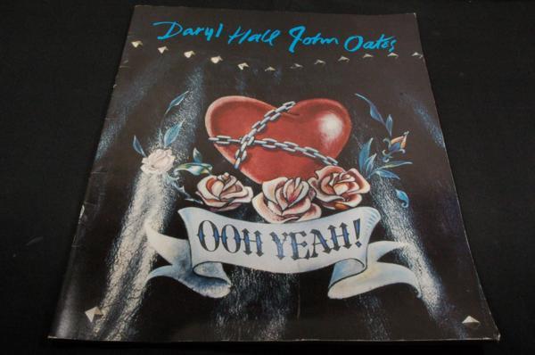 コンサートパンフ/ダリル.ホール&ジョン.オーツSUPER LIVE'88年