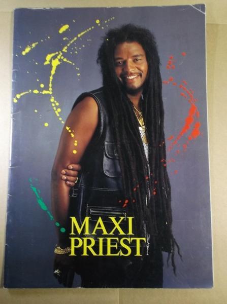 マキシ・プリースト maxi priest パンフ