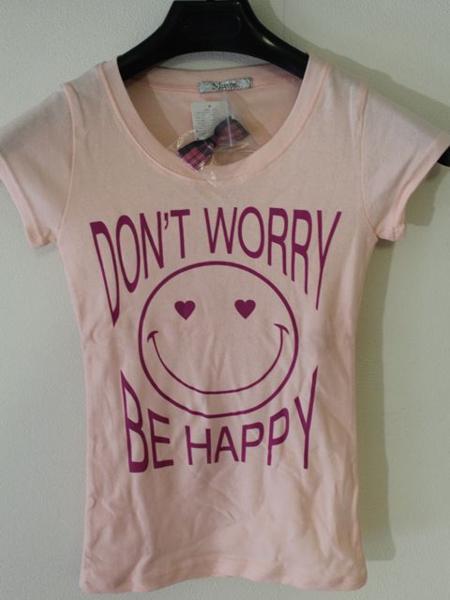 フロムファースト FROM FIRST musee レディーススマイル半袖Tシャツ ピンク 新品_画像6