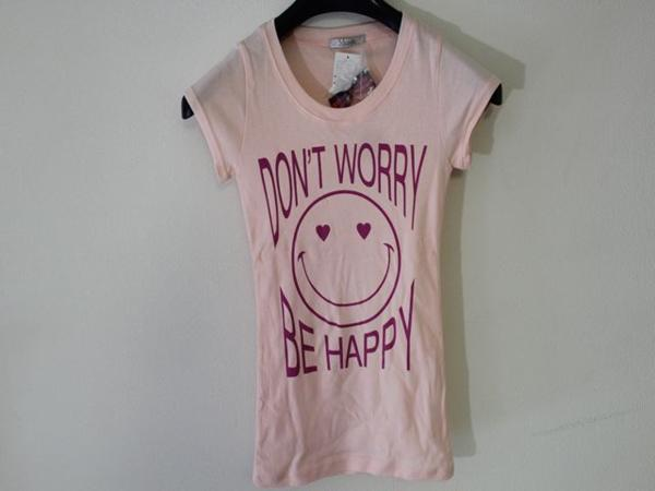 フロムファースト FROM FIRST musee レディーススマイル半袖Tシャツ ピンク 新品_画像1