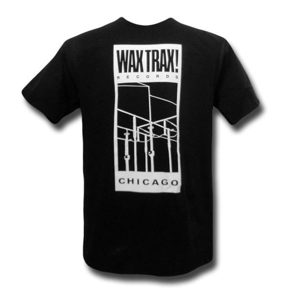Wax Trax! Records Tシャツ Wire BLACK L ministry klf