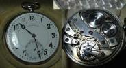 重34g プラチナケース懐中時計 BRIGHTCHRONOM
