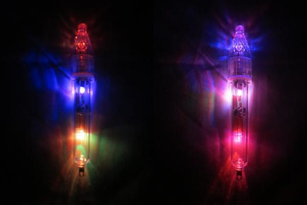 水中ライト 水中集魚灯 集魚ライト レインボー イカ タチウオ バラムツ_画像3