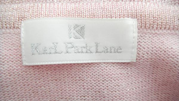 X43■KarL Park Lane カールパークレーン カーディガン ピンク_画像3