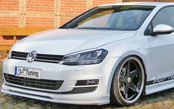 【M's】VW ゴルフ7 TSI/Ingo-Noak フロントリップスポイラー_画像4