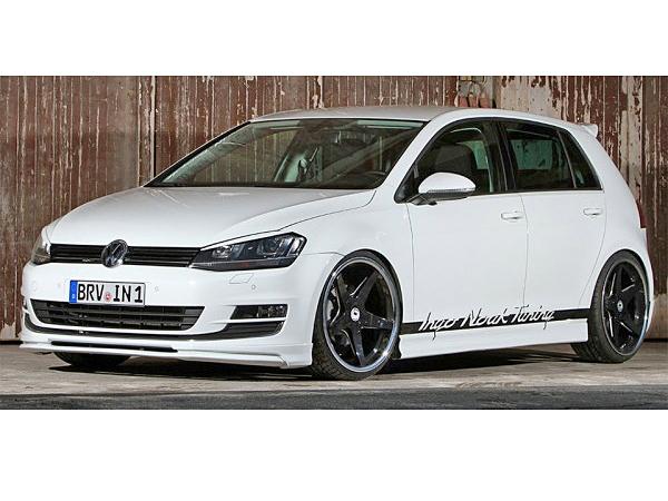 【M's】VW ゴルフ7 TSI/Ingo-Noak フロントリップスポイラー_画像3
