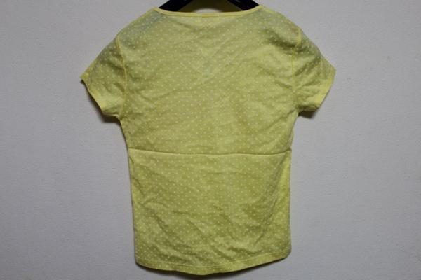 パシフィックコースト PACIFIC COAST レディ-ス半袖Tシャツ イエロー Lサイズ 新品_画像4