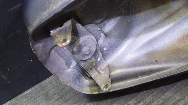 ヤマハ ドラッグスター400 4TR 燃料タンク Y120-63_画像9