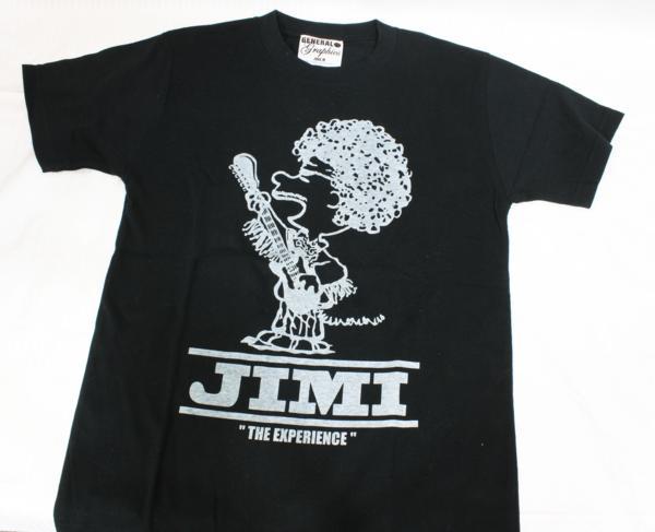 新品 GENERAL GRAPHICS Tシャツ ジミ ヘンドリックス Ladies M