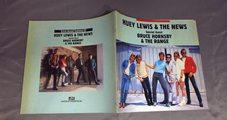 ★パンフ HUEY LEWIS & THE NEWS/KIRIN SOUND TOGETHER `87 ★