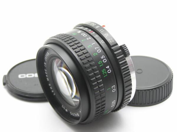 ★ハロ-カメラ★5688 OLYMPUS OM用 COSINA(24mm F2.8 MC MACRO) 多少の難有り動作品